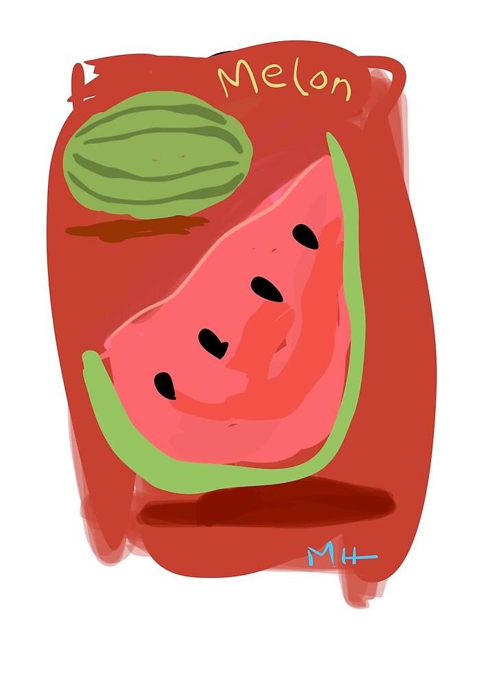 Melon - Still Life by Martin Howard