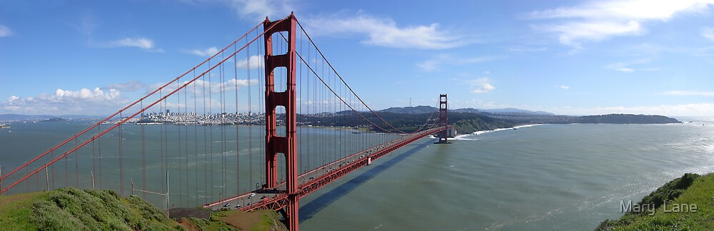 San Francisco Bay by Mary  Lane