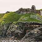 The Ruin of Dunscaith Castle by Jason Moad