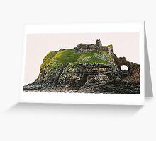 The Ruin of Dunscaith Castle Greeting Card