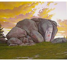Thunderbolt's Rock Photographic Print