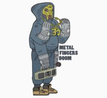 Metal Fingers Doom (Nehruvian) by ThNTWRNG