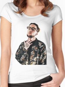 Scrim - $UICIDEBOY$ (SUICIDEBOYS) Women's Fitted Scoop T-Shirt