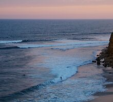 Twilight, Bells Beach Australia,Great Ocean Road by Joe Mortelliti
