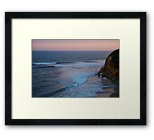 Twilight, Bells Beach Australia,Great Ocean Road Framed Print