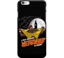Real American Werewolf iPhone Case/Skin