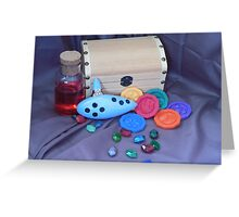 Ocarina of Time Greeting Card