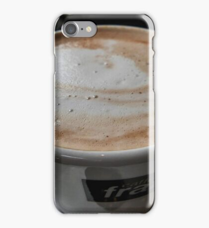 Frothy Coffee iPhone Case/Skin