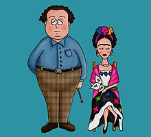 Diego & Frida by mmducoing