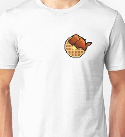 8-Bit Chicken and Waffles Unisex T-Shirt