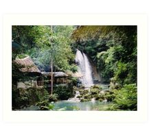 Kawasan Falls - Cebu Philippines Art Print