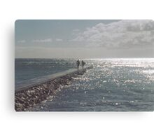 Surfer Love Canvas Print