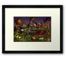 Mushroom - Deep in the Bayou Framed Print