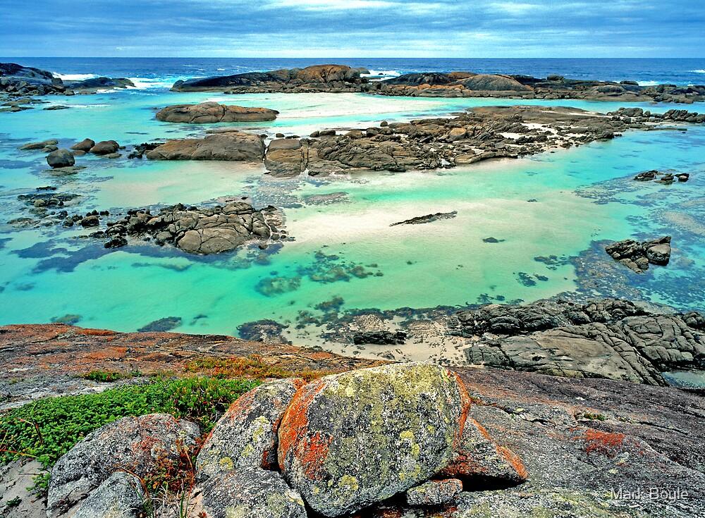 Colourful Coastline, South Western Australia by Mark Boyle