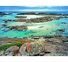 Colourful Coastline, South Western Australia Photographic Print