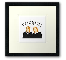 Wicked! Framed Print