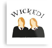Wicked! Metal Print
