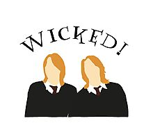 Wicked! Photographic Print