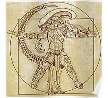 Vitruvian Hunter (NO TEXT) Poster
