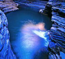 Kermits Pool, Hancock Gorge, Karijini NP by Mark Boyle