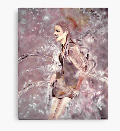 eclaboussure Canvas Print