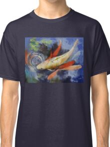 Koi and Water Ripples Classic T-Shirt