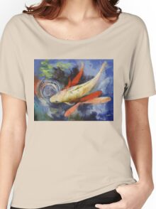 Koi and Water Ripples Women's Relaxed Fit T-Shirt