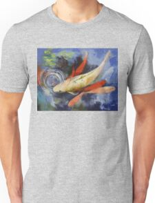 Koi and Water Ripples Unisex T-Shirt