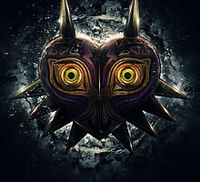 The Epic Evil of Majora's Mask by barrettbiggers