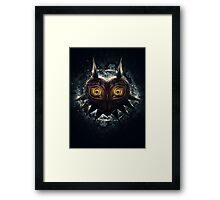 The Epic Evil of Majora's Mask Framed Print