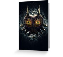 The Epic Evil of Majora's Mask Greeting Card