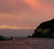 Sunset, Glen Aire Beach by Joe Mortelliti