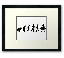 The Evolution of JoJo Framed Print