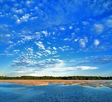 Looking Across Hunters Creek, Cape Leveque by Mark Boyle