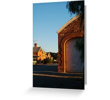 Hawker Railway Station,Outback South Australia Greeting Card