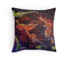 Nessy Throw Pillow