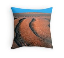 Tidal Sand Lines, Hunters Creek, Cape Leveque Throw Pillow