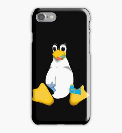 Linux is OP iPhone Case/Skin