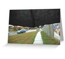 A Walk In The Rain Greeting Card