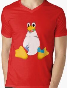 Linux is OP Mens V-Neck T-Shirt