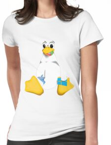 Linux is OP Womens Fitted T-Shirt