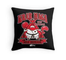 Krab Maga Throw Pillow