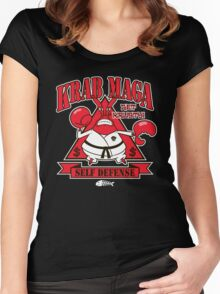 Krab Maga Women's Fitted Scoop T-Shirt
