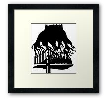 Roots in the Bay Framed Print