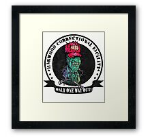 Dead Men Walkin' Framed Print