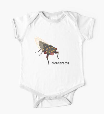 Cicadarama - Cherrynose cicada One Piece - Short Sleeve