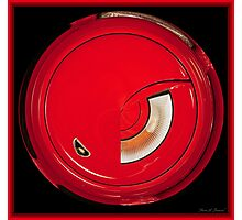 Sport Red Photographic Print
