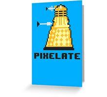 Pixelate Greeting Card