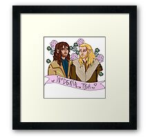 Fili and Kili - in denial about the Battle of the Five Armies Framed Print