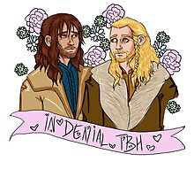 Fili and Kili - in denial about the Battle of the Five Armies Photographic Print